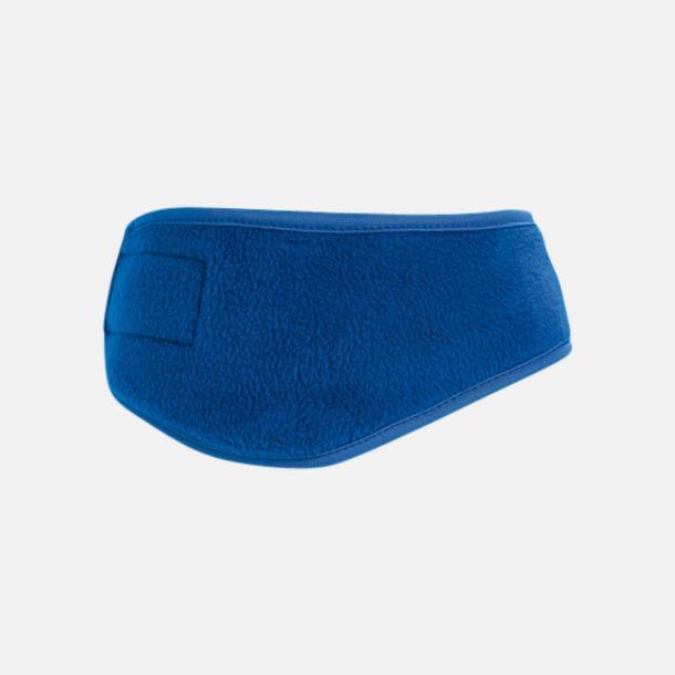 Royal Blue Fleece pannband med reklamlogo