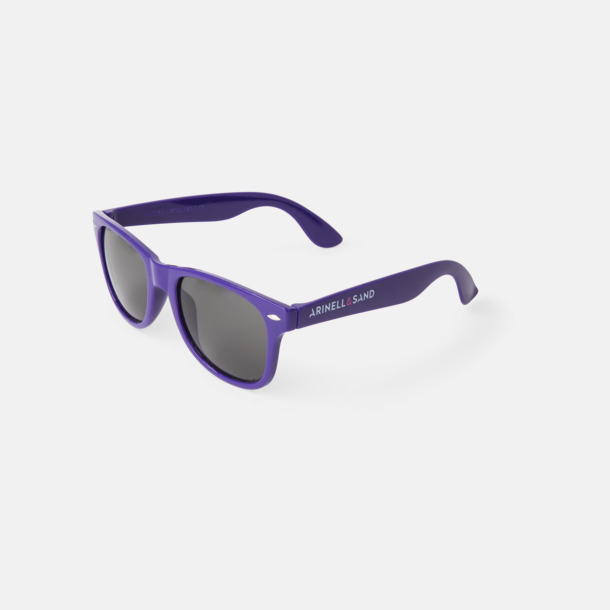 Trendiga solglasögon med tryck