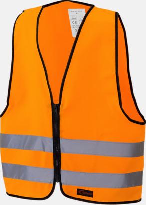 Orange Reflexväst Barn - Barnvästar i flera olika färger