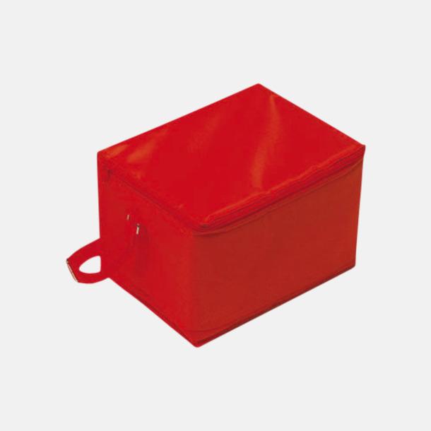 Röd Stora, billiga kylväskor med reklamtryck