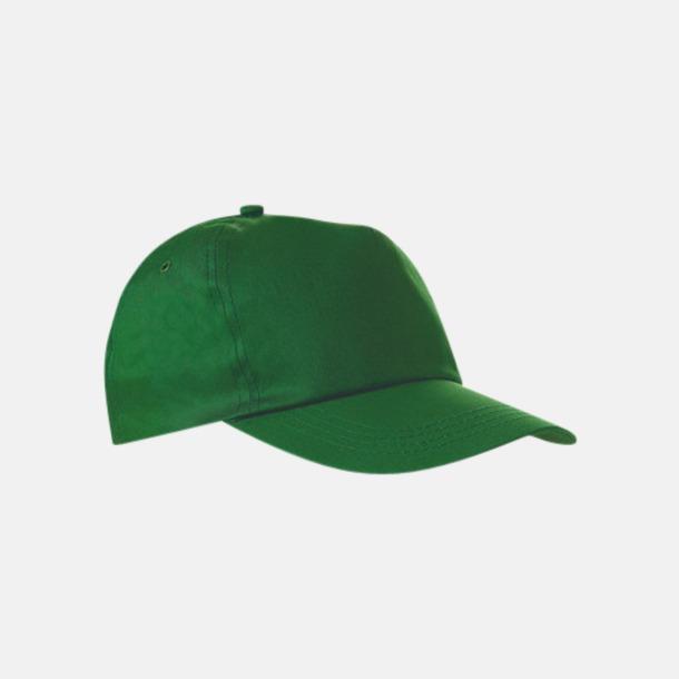 Ljusgrön Billiga kepsar i bomull med reklamlogo