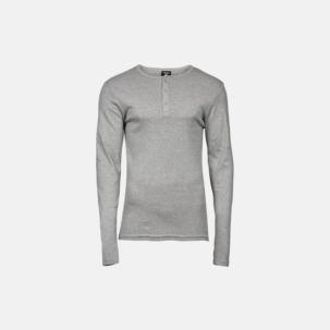 Knappförsedda t-shirts för herr & dam - med reklamtryck