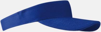 Royal Blue Solskärmar i många färger - med reklamtryck