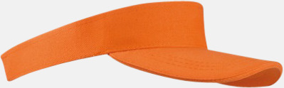 Orange Solskärmar i många färger - med reklamtryck
