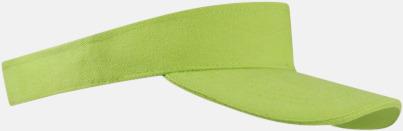 Ljusgrön Solskärmar i många färger - med reklamtryck