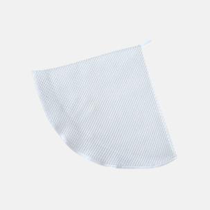 Runda handdukar med våffelstruktur - med reklamlogo