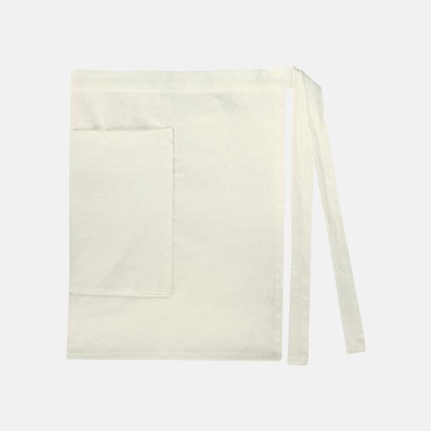 Ivory (dam) Midjeförkläden i canvas med reklamtryck