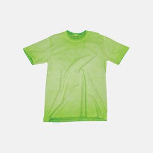 Vintage t-shirts i mjuka toner med reklamtryck