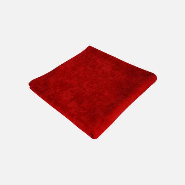 Paprika Red Strandhanddukar med reklamlogo