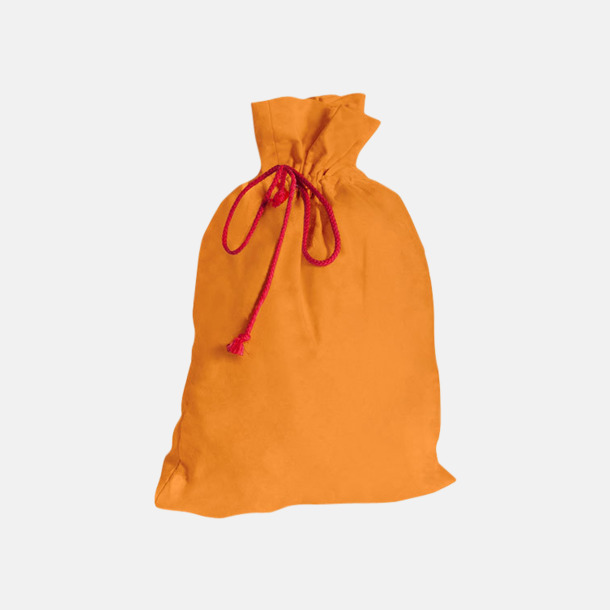 Sunny Orange Presentpåsar i bomull med reklamtryck