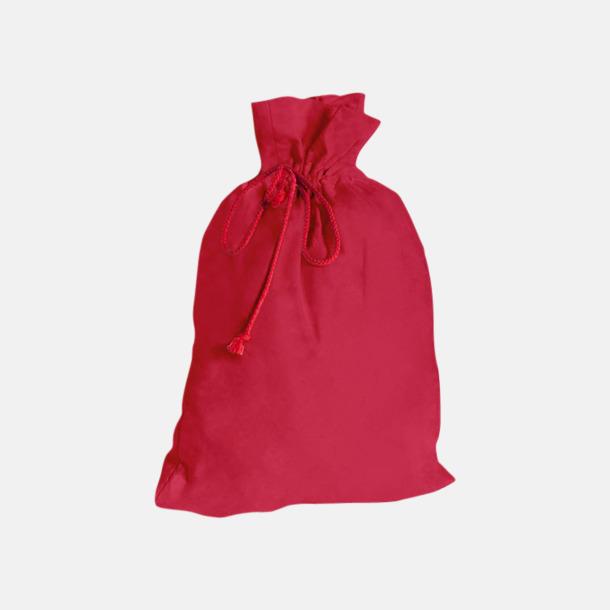 Paprika Red Presentpåsar i bomull med reklamtryck