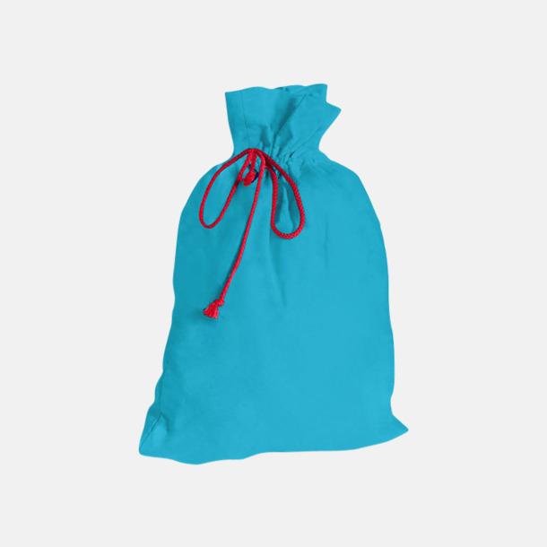Aqua Presentpåsar i bomull med reklamtryck