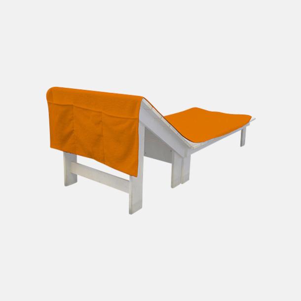 Sunny Orange Handdukar för brassestolar med reklambrodyr