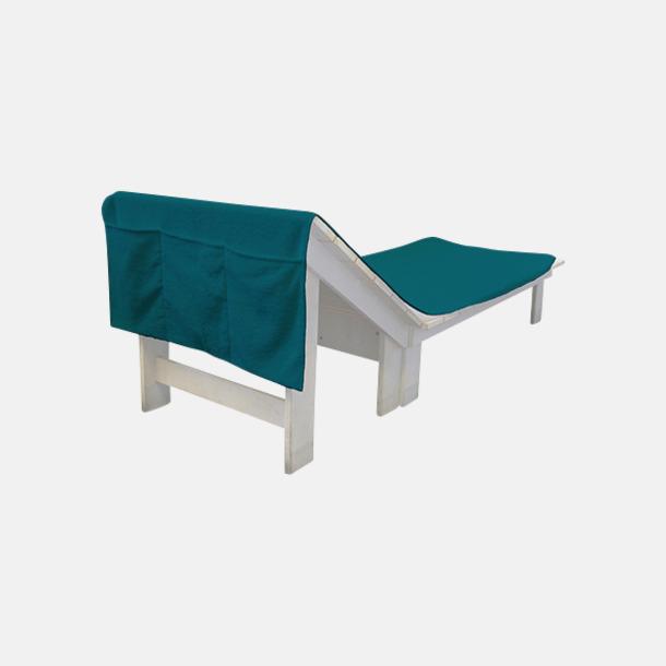 Lagoon Green Handdukar för brassestolar med reklambrodyr