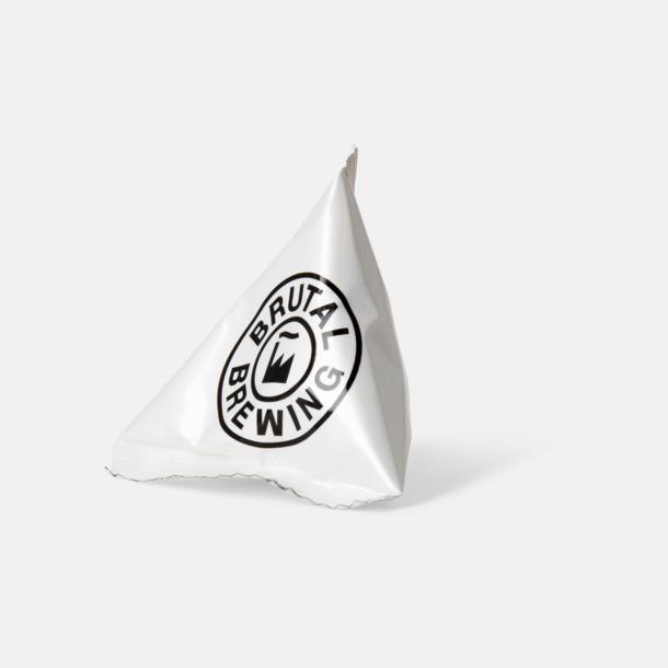 Snacks från Ültje eller Roland i pyramidpåsar med reklamtryck