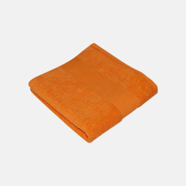 Sunny Orange Handdukar i terrybomull med reklamlogo