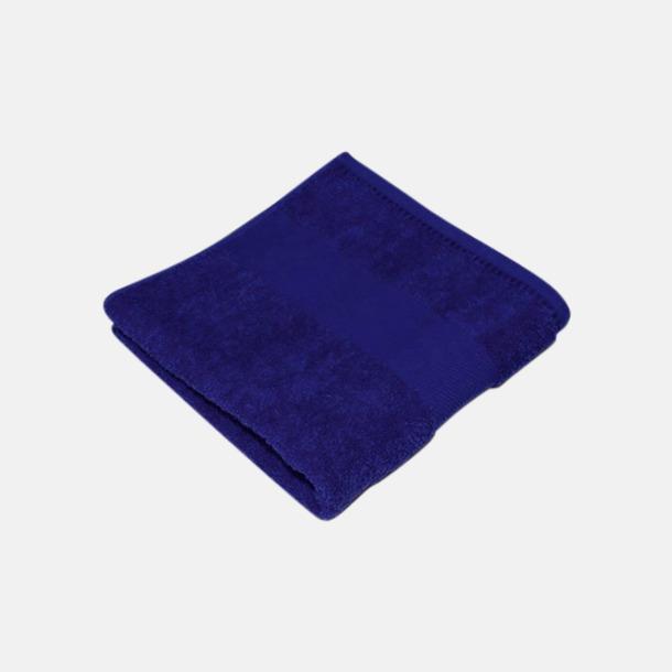 Royal Blue Handdukar i terrybomull med reklamlogo