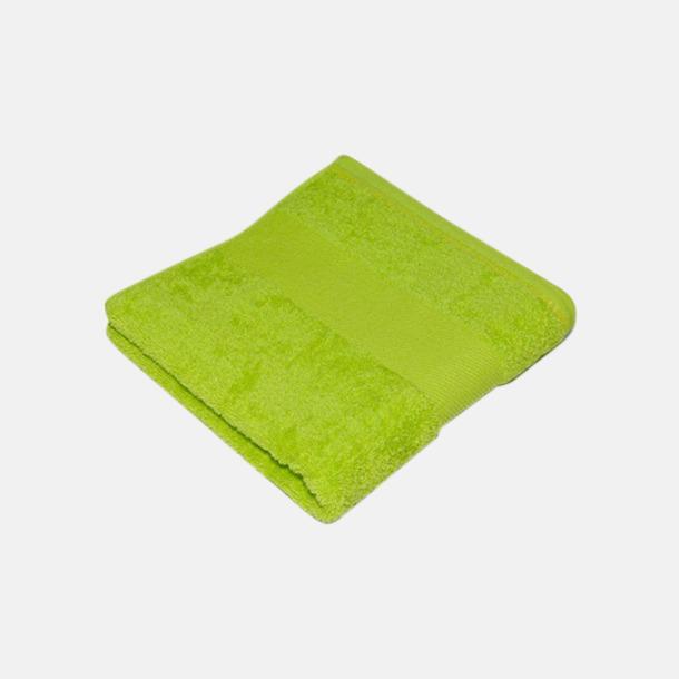 Lime Handdukar i terrybomull med reklamlogo