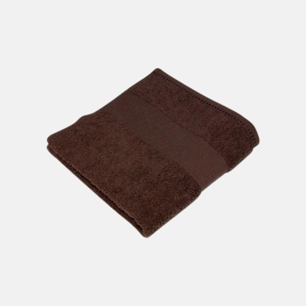 Cocoa Chocolate Handdukar i terrybomull med reklamlogo