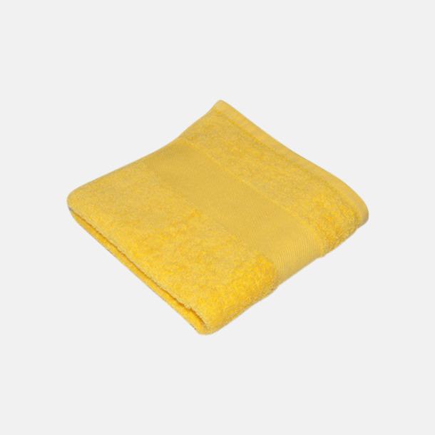 Brilliant Yellow Handdukar i terrybomull med reklamlogo