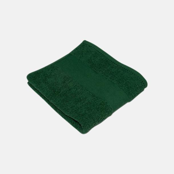 Bottle Green Handdukar i terrybomull med reklamlogo