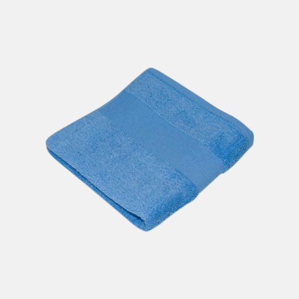 Baby Blue Handdukar i terrybomull med reklamlogo