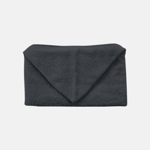 Anthracite Grey Handdukar för barn med huva - med reklamlogo