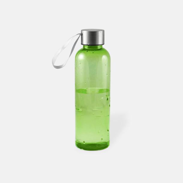 Lime Remförsedda vattenflaskor med reklamtryck