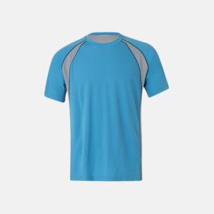 Unisex tränings t-shirts i multifärg med reklamtryck