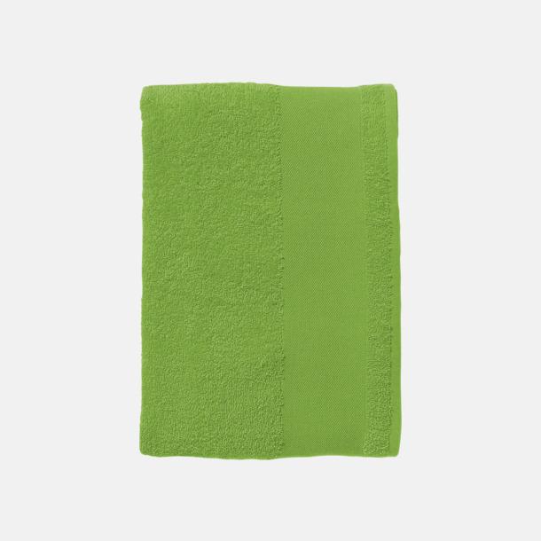 Lime Små handdukar med reklamlogo