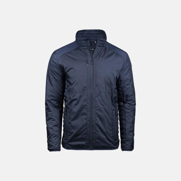 Marinblå (herr) Moderna jackor från Tee Jays med reklamtryck
