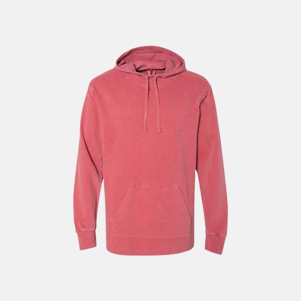Crimson Unisex scuba hoodies med reklamtryck