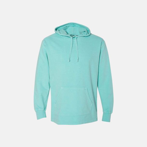 Chalky Mint Unisex scuba hoodies med reklamtryck