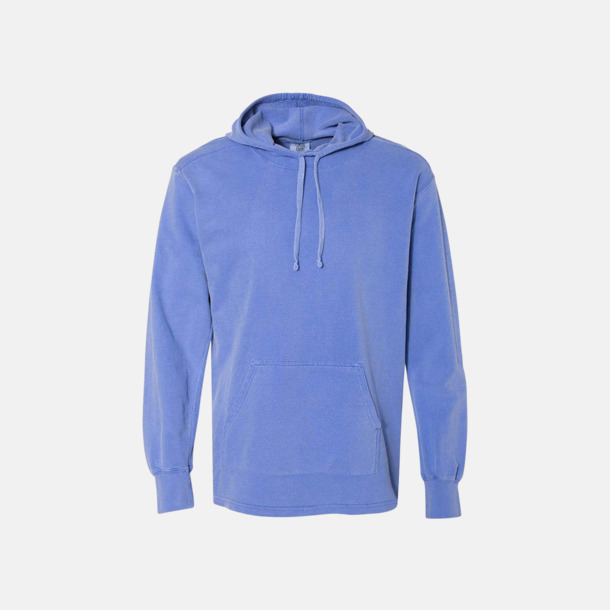 Flo Blue Unisex scuba hoodies med reklamtryck