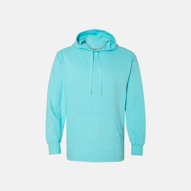 Lagoon Blue Unisex scuba hoodies med reklamtryck
