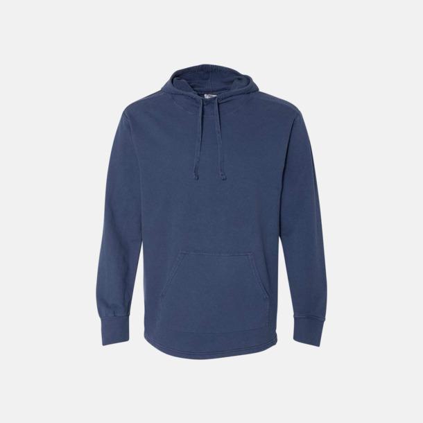 True Navy Unisex scuba hoodies med reklamtryck