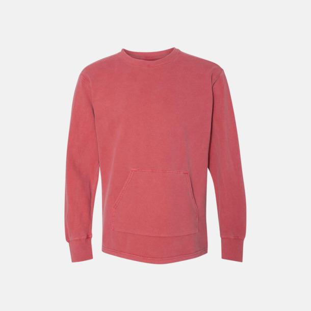Crimson Fina sweatshirts i unisex med reklamtryck