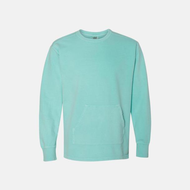 Chalky Mint Fina sweatshirts i unisex med reklamtryck