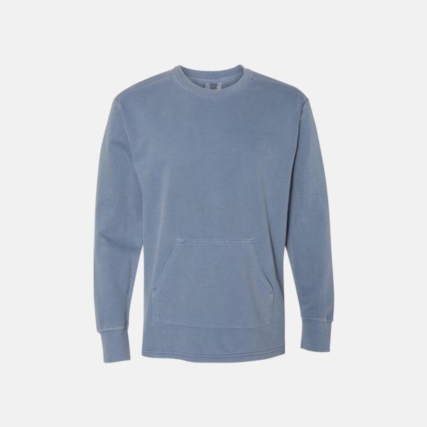 Blue Jean Fina sweatshirts i unisex med reklamtryck
