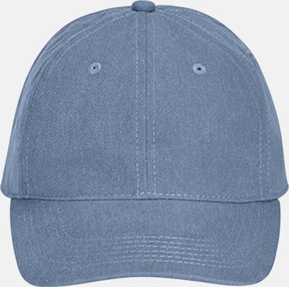Blue Jean (pigment dyed) Kepsar i 2 varianter med reklamlogo