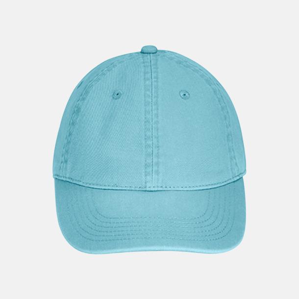Lagoon Blue (direct dye) Kepsar i 2 varianter med reklamlogo