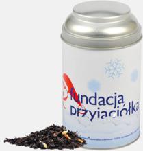 Brukar fyllda med te - med reklamtryck