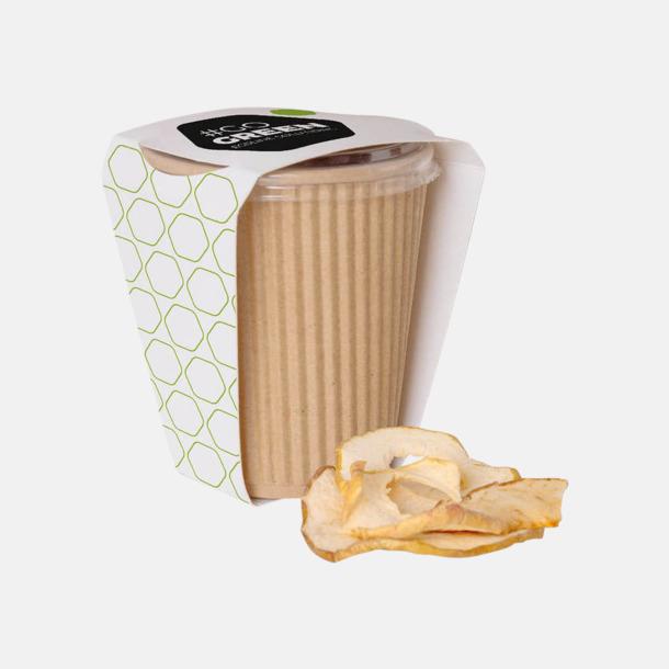 Äppelchips (25 gram) Torkad frukt som chips med reklamtryck