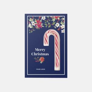 Egen julhälsning med polkagodis