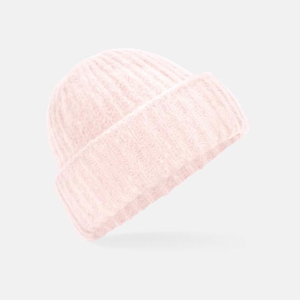 Soft Pink Mjuka beanies med reklamlogo
