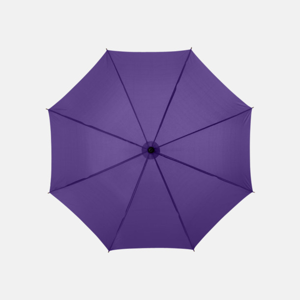 Lavender Klassiskt reklamparaply med tryck