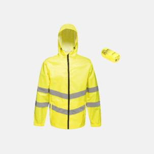 Reflexförsedda jackor med reklamtryck
