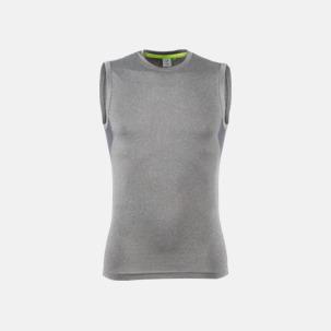 Ärmlösa funktions t-shirts med reklamtryck