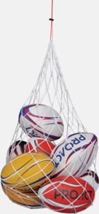 Nätpåsar för bollar med reklamtryck