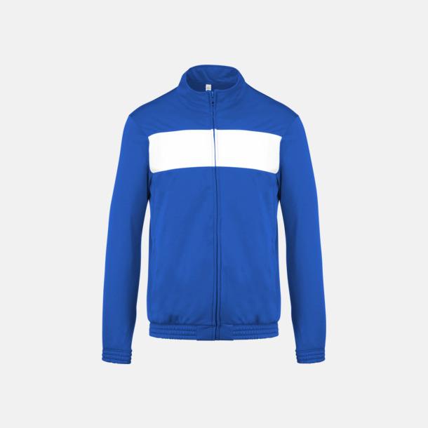 Sport Royal Blue/Vit Lagtröjor i funktionsmaterial med reklamtryck